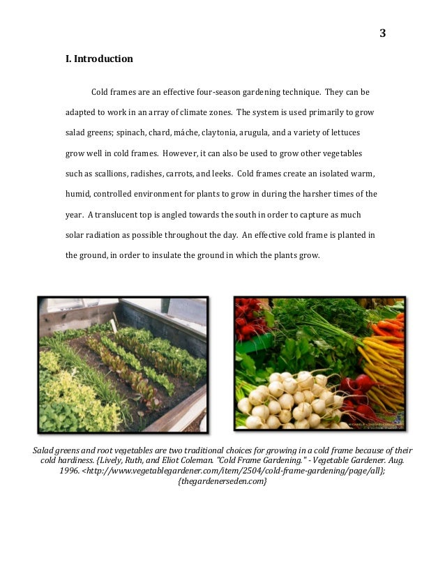 The Cold Frame Handbook - for Winter Gardening