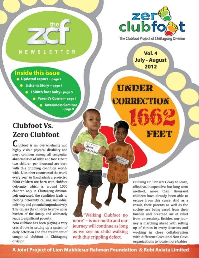 Zero Clubfoot Newsletter 4