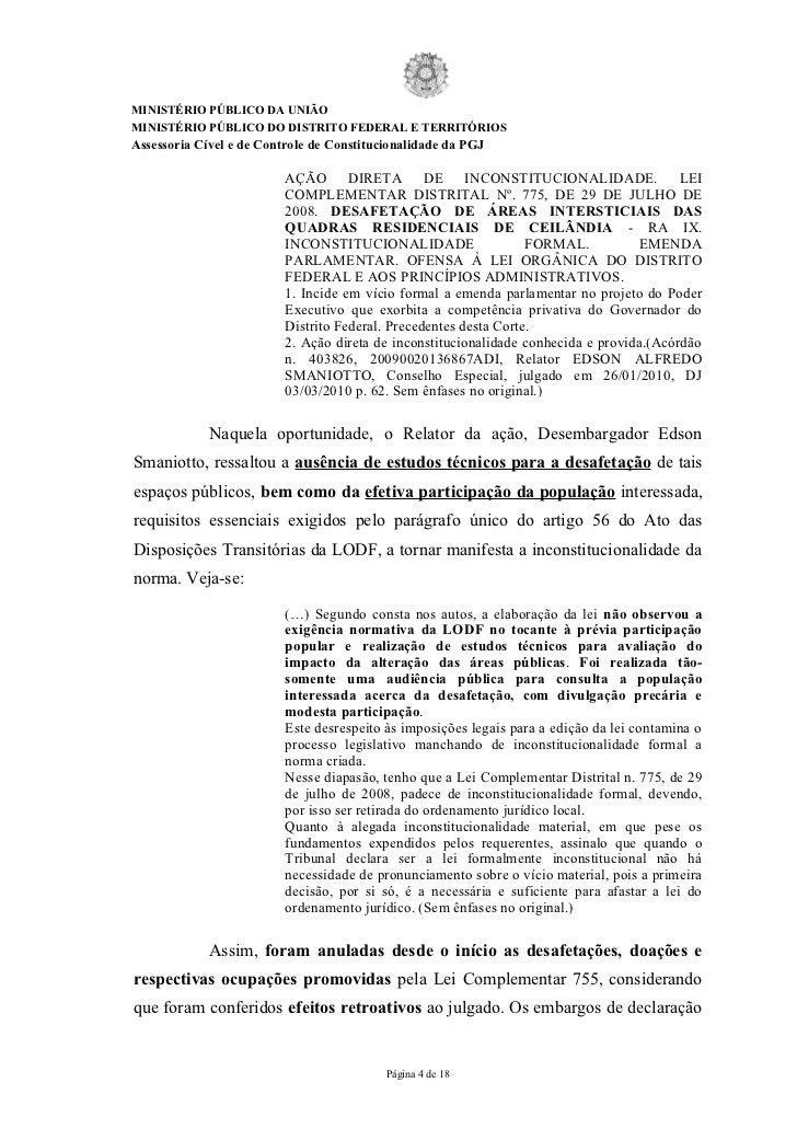 MINISTÉRIO PÚBLICO DA UNIÃOMINISTÉRIO PÚBLICO DO DISTRITO FEDERAL E TERRITÓRIOSAssessoria Cível e de Controle de Constituc...