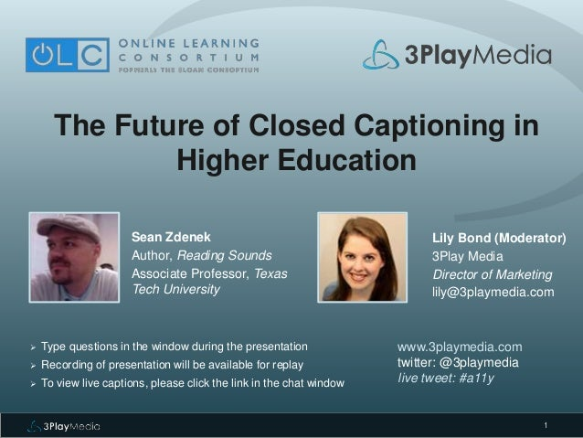 The future of higher education — changes are afoot