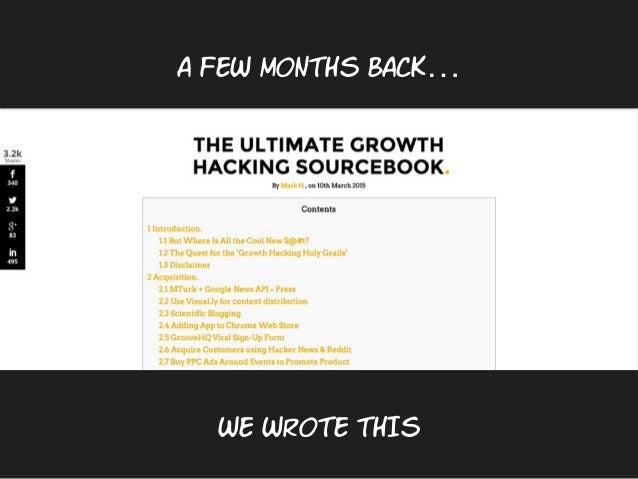 10 Explosive & Actionable Growth Hack Tactics by @rocketshp Slide 2