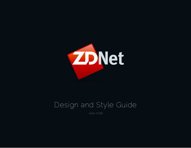 Design and Style Guide June 2016