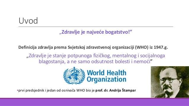 Zdravlje i bolest Slide 2