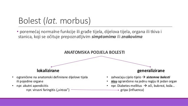 Zdravlje i bolest Slide 3