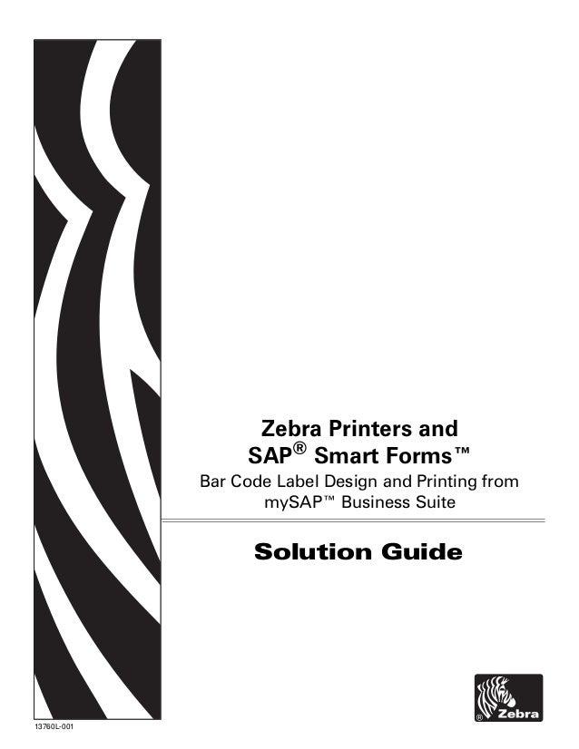 Zebra sap-smartforms-solution
