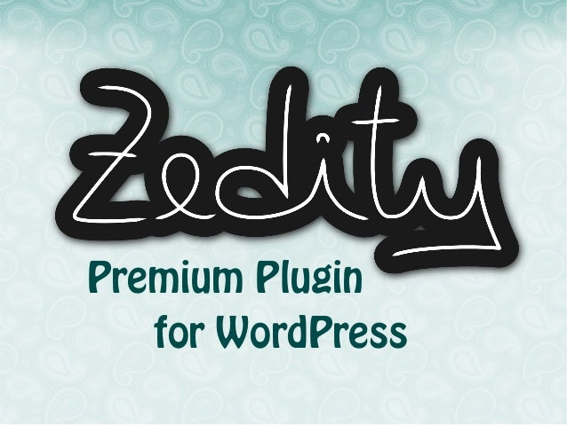 Premium Plugin for WordPress