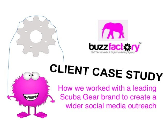 How we worked with a leadingScuba Gear brand to create a  wider social media outreach