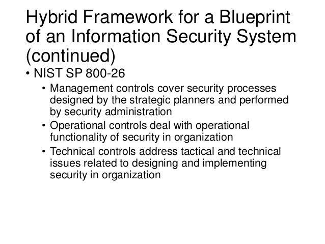 Information security blueprint blueprint development process 21 malvernweather Images