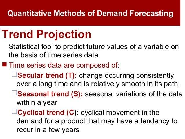 demand forecasting techniques