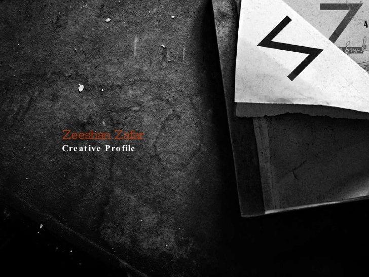 Zeeshan Zafar Creative Profile