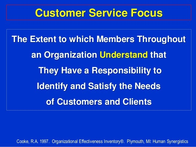 focusing customer service Empathy is the single most important customer service skill why because if you want an employee to help your customers be happy and successful, it's important for that employee to understand what happiness and success mean to your customers.