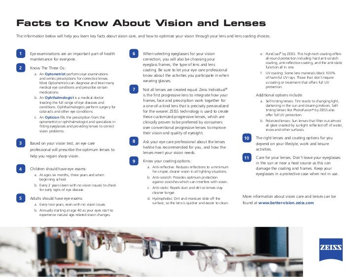 ed77caa3427 ZEISS Facts to Know About Vision and Lenses