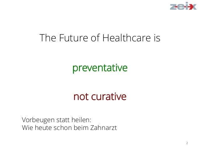 The Future of Healthcare – Vom Schachcomputer und Routenplaner zur personalisierten Medizin Teil 2 Slide 2