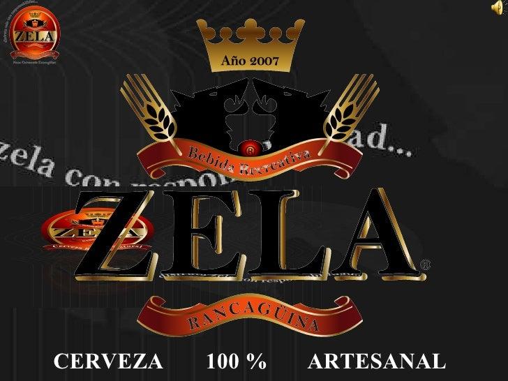 CERVEZA  100 % ARTESANAL