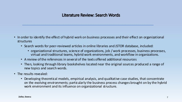 clc review article review of organizational
