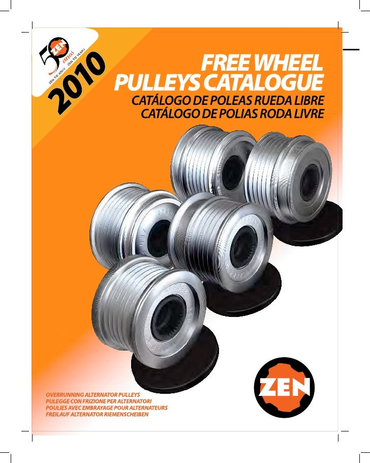 FREE WHEELPULLEYS CATALOGUE