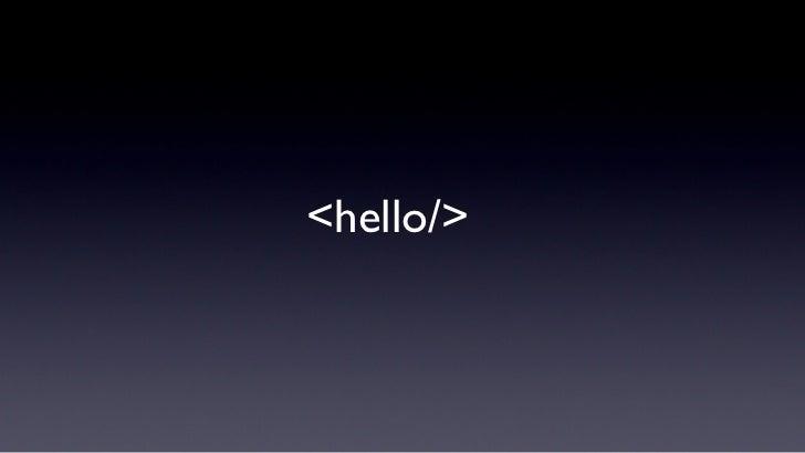 <hello/>