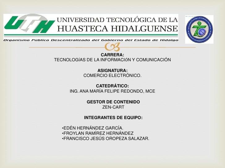                   CARRERA:TECNOLOGÍAS DE LA INFORMACIÓN Y COMUNICACIÓN               ASIGNATURA:           COMERCIO ELECT...