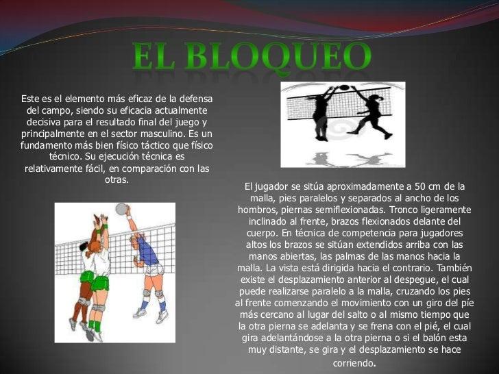 Fundamentos del voleibol Slide 2