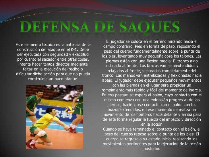 Fundamentos del voleibol Slide 3