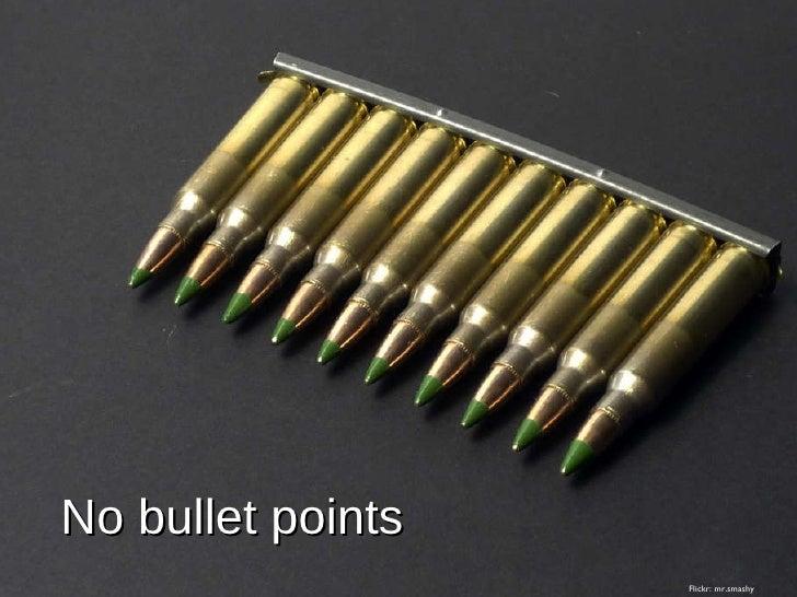 No bullet points