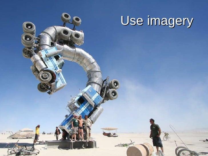 Use imagery