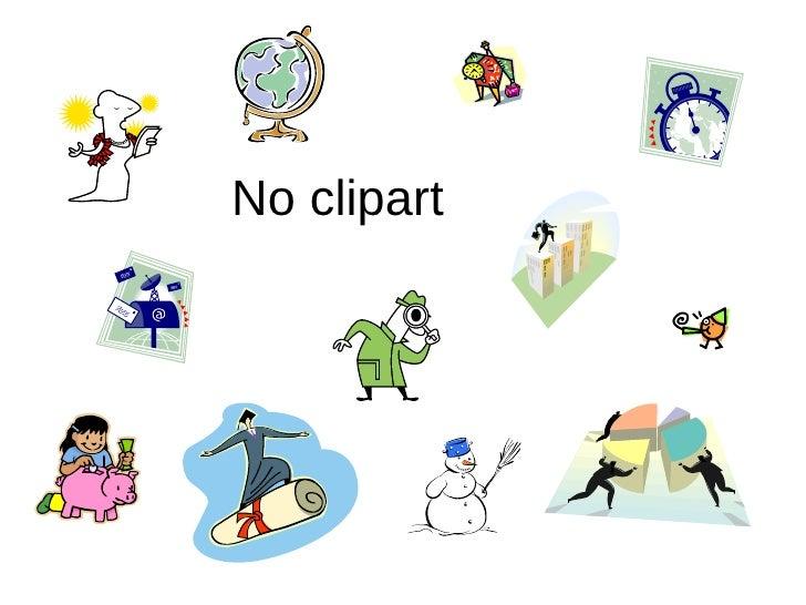 No clipart