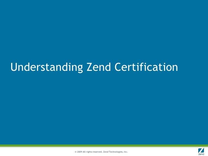 how to become zend certified engineer