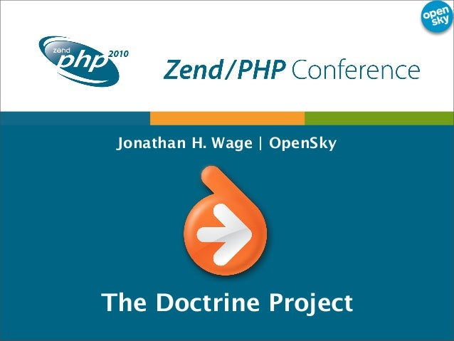 Jonathan H. Wage | OpenSky The Doctrine Project