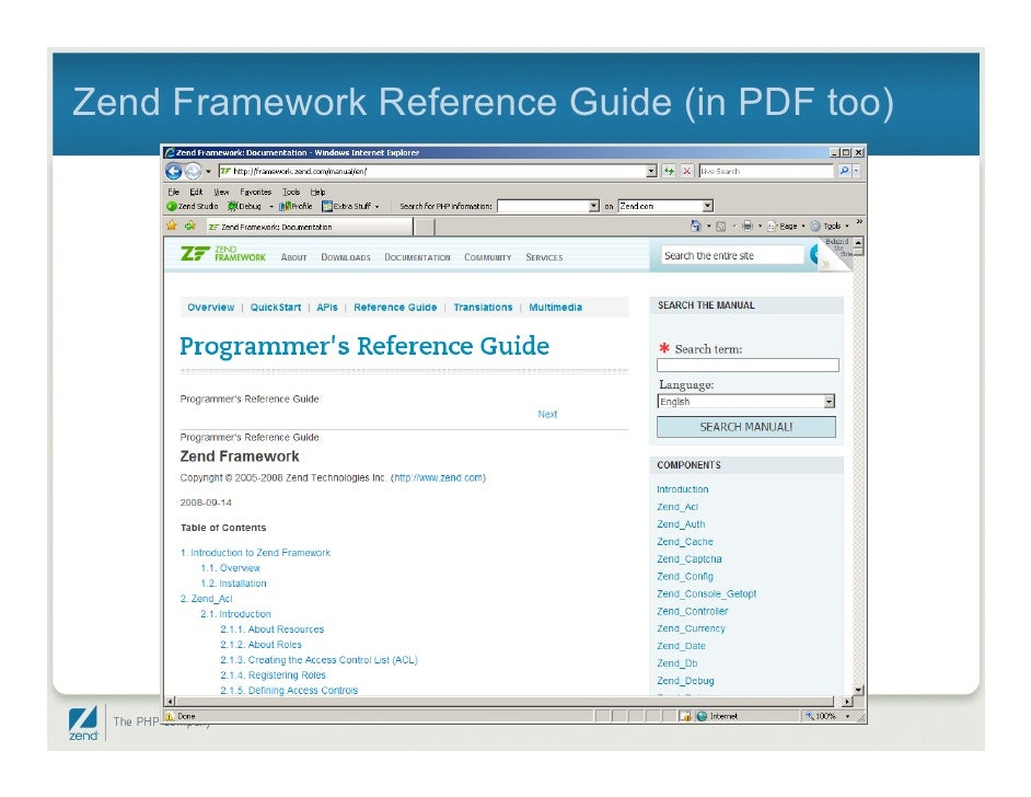 zend framework getting started for i5 rh slideshare net Zend Framework Tutorial Zend Y