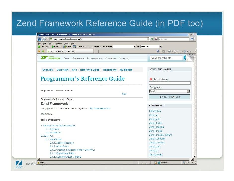 Zend Framework from Scratch - Code Envato Tuts+