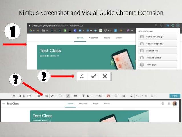 Nimbus Screenshot and Visual Guide Chrome Extension