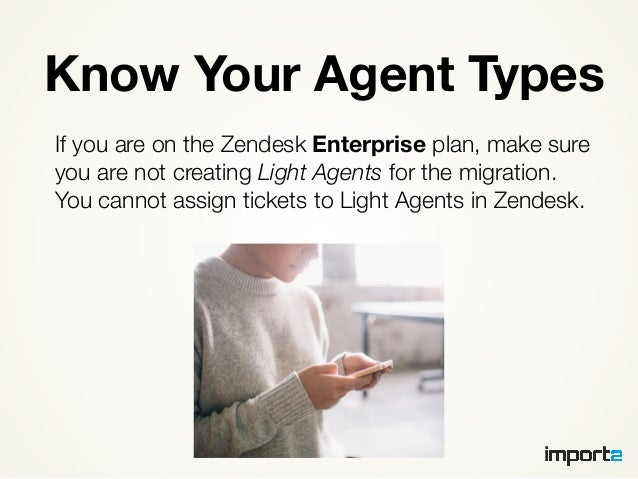 7. Know Your Agent ... Idea