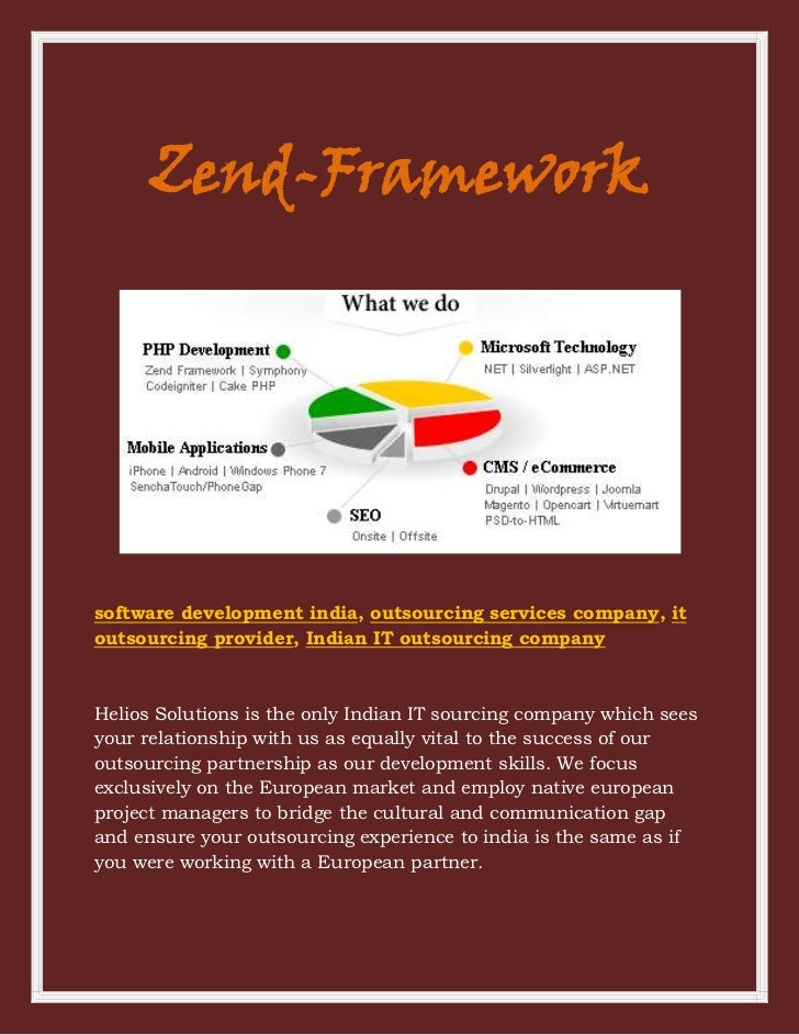 Zend-Frameworksoftware development india, outsourcing services company, itoutsourcing provider, Indian IT outsourcing comp...