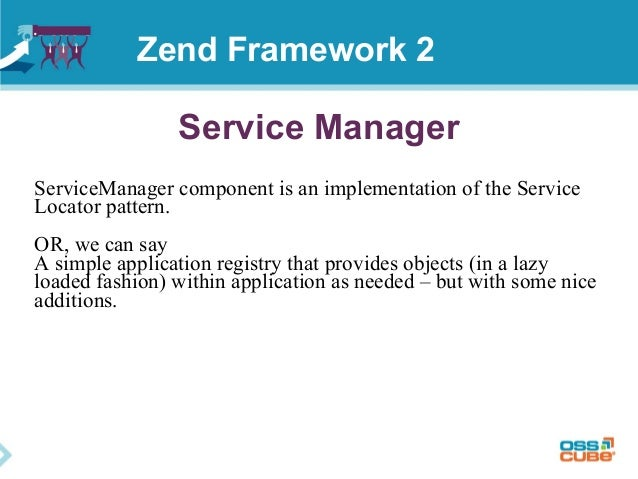 Service Manager ServiceManager component is an implementation of the Service Locator pattern. OR, we can say A simple appl...