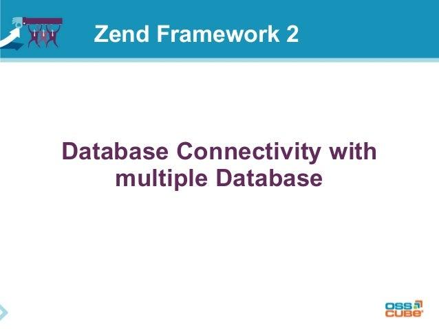 Database Connectivity with multiple Database Zend Framework 2