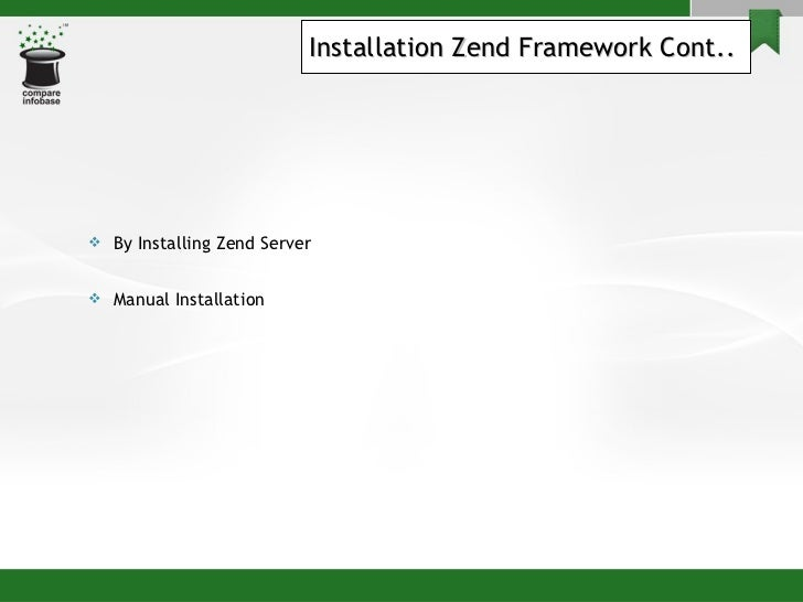 Zend - Installation And Sample Project Creation