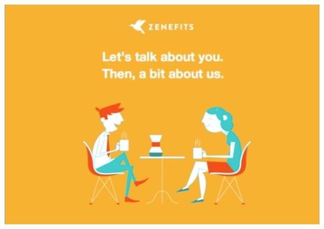 Zenefits Sales Deck