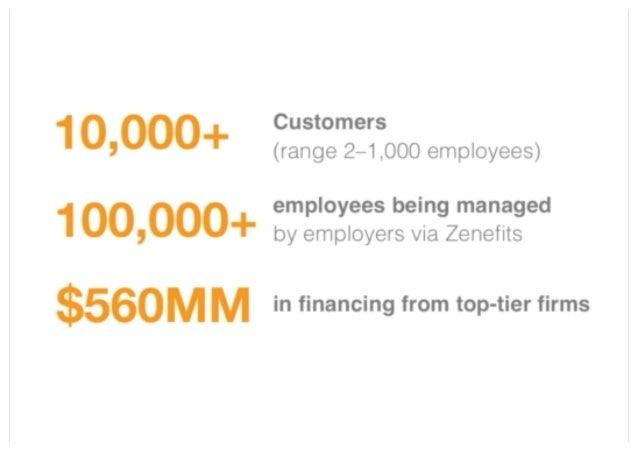 Zenefits Sales Deck Slide 2
