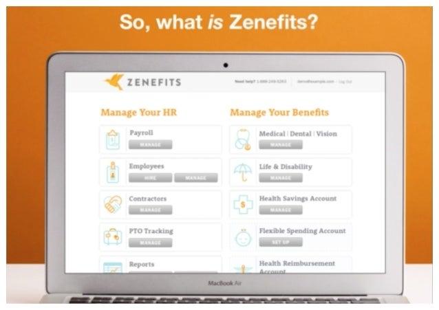 Zenefits Sales Deck Slide 3