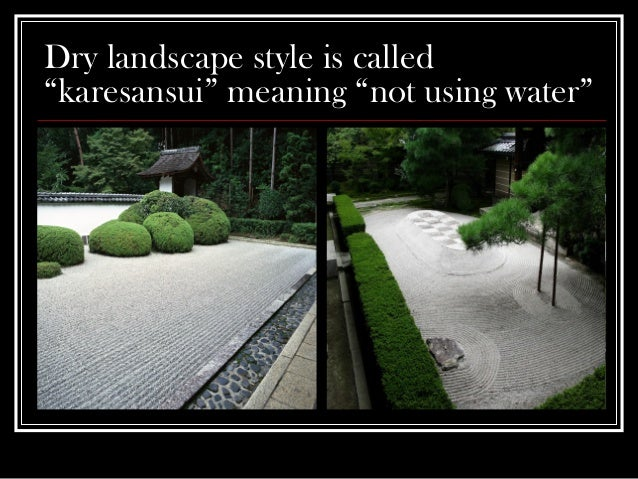 Zen Garden Design Planning for High School Horticulture and Home G