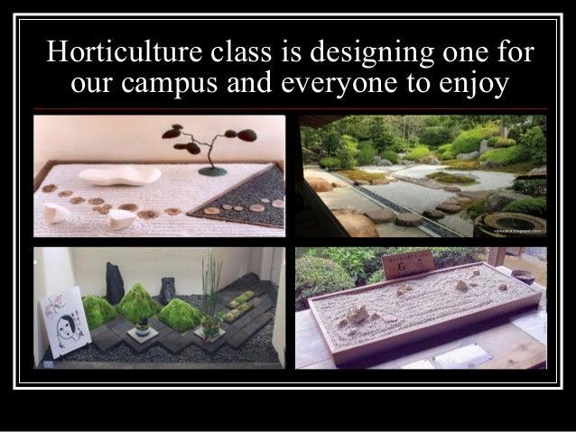 Zen Classroom Design : Zen garden design planning for high school horticulture