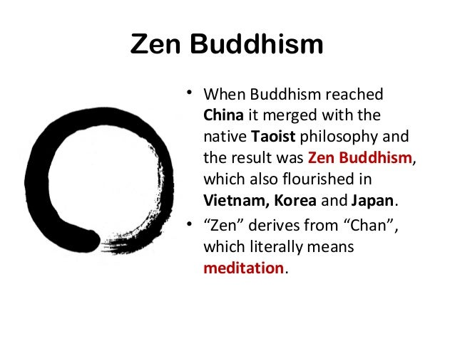 an introduction to zen buddhism • what is buddhism buddhism is a religion to about 300 million people around the world the word comes from 'budhi', 'to awaken.