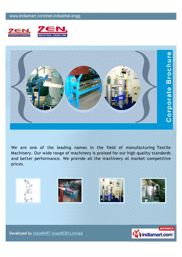 We are one of the leading names in the field of manufacturing TextileMachinery. Our wide range of machinery is praised for...