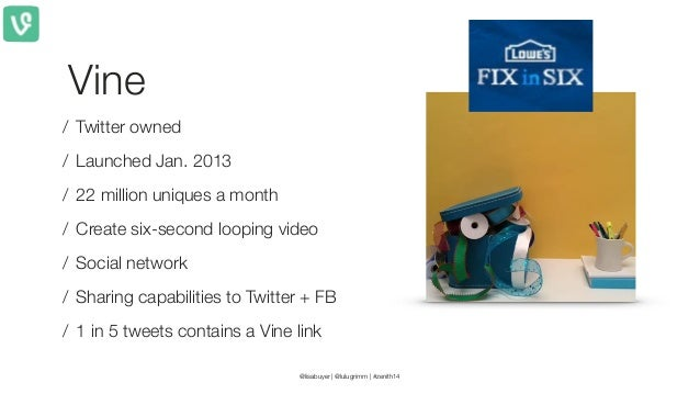 55  percent Of all Internet traffic will be video by 2016 Source:  IDC ! Source: Twitter