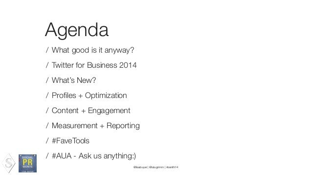 What good is it anyway? / Direct to audience relationship building / Customer Service / Media Relations / Building Communi...