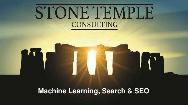 Machine Learning Search and SEO - Zenith
