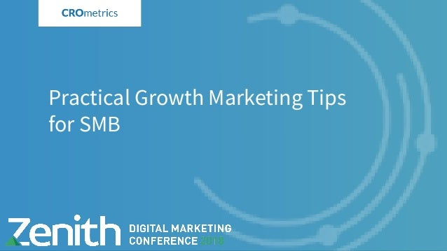 Practical Growth Marketing Tips for SMB