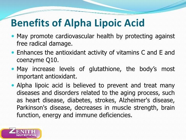 Zenith Nutritions Alpha Lipoic Acid