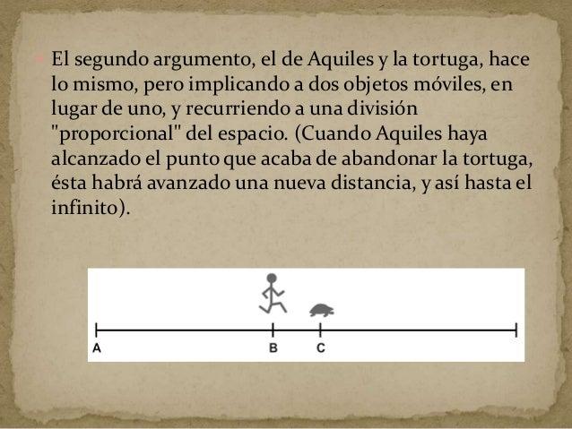  Este argumento se reduce a lo siguiente: es imposible atravesar el estadio, porque, antes de alcanzar el final, se debe ...